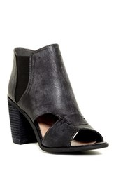 Rebels Adora Cut Out Bootie Gray