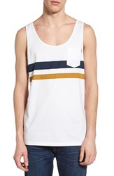 Men's Rhythm 'Deuce' Stripe Pocket Tank