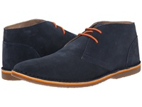 Lotus Wickford Navy Suede Men's Lace Up Cap Toe Shoes Blue