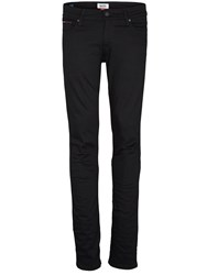 Tommy Hilfiger Men's Sidney Black Skinny Fit Jeans Black