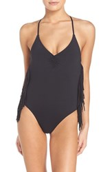 L Space Women's Fringe One Piece Swimsuit