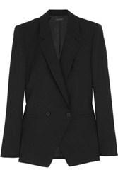 Theory Elkaey Stretch Wool Blazer Black