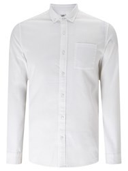 John Lewis Kin By Waffle Texture Shirt Off White