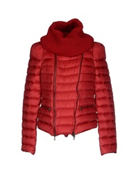 Alysi Down Jackets Red