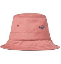 Battenwear Brushed Cotton Twill Bucket Hat Pink