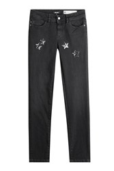 Just Cavalli Jeans With Sequin Star Embellishment Gr. 25