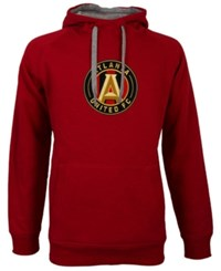 Antigua Men's Atlanta United Fc Victory Pullover Hoodie Red