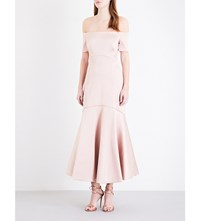 Temperley London Onyx Satin Dress Blush