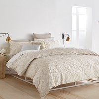 Dkny Motion Duvet Cover Oatmeal Neutral