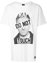 Les Artists Art Ists Do Not Touch T Shirt White