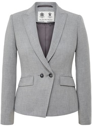 Austin Reed Panama Weave Jacket Grey