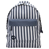 Mi Pac Custom Seaside Stripe Backpack Blue