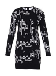 Josh Goot Glitch Intarsia Knit Dress