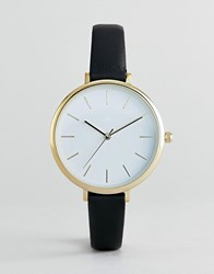 Asos Design Minimal Black Watch