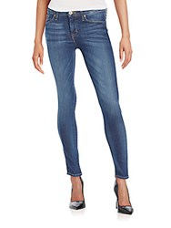 Hudson Mid Rise Ankle Skinny Jeans Pisces