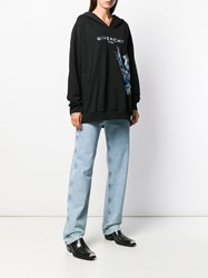 Givenchy Birds Embroidery Hoodie Black