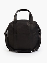 Non Applicable 11 Black Leather Overnight Bag