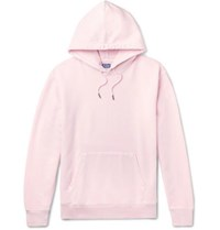 J.Crew Garment Dyed Loopback Cotton Jersey Hoodie Pink