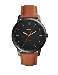 Fossil Casual The Minimalist 3H Black Dial Watch No Color