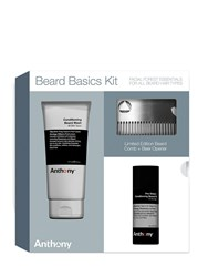 Anthony Logistics For Men Beard Basics Grooming Kit Transparent