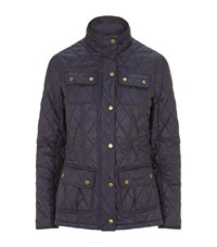 Barbour Rebecca Quilted Utility Jacket Female Navy