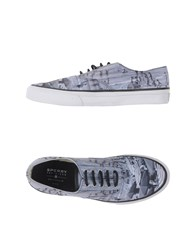 Sperry Top Sider Footwear Low Tops And Trainers Men Light Grey