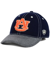Top Of The World Auburn Tigers Ncaa D'up Stretch Cap Navy Gray