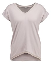 Kiomi Basic Tshirt Ashes Of Rose Mottled Light Grey
