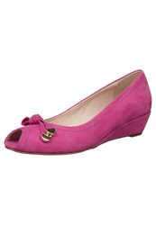 Pier One Wedges Fuxia Pink