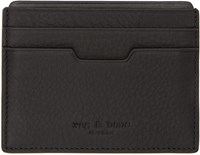 Rag And Bone Black Leather Card Holder