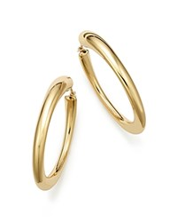 Bloomingdale's 14K Yellow Gold Large Oval Hoop Earrings