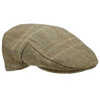 Barbour Wool Crieff Flat Cap Olive