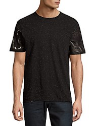 Eleven Paris Bidjibis Abstract Print Tee Neppy Black
