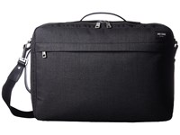 Jack Spade Tech Oxford Convertible Briefpack Charcoal Briefcase Bags Gray