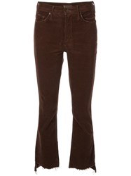 Mother Corduroy Jeans Brown
