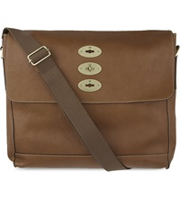 Mulberry Brynmore Leather Messenger Bag Oak