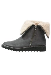 Clarks Olso Beth Wedge Boots Grijs Grey