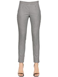 Emporio Armani Stretch Houndstooth Pants