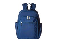 Baggallini Essential Laptop Backpack With Rfid Pacific Backpack Bags Blue