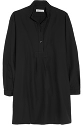The Sleep Shirt Cotton And Cashmere Blend Twill Nightshirt