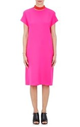 Lisa Perry Floating Collar Dress Pink