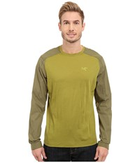 Arc'teryx Pelion Comp Long Sleeve Bamboo Men's Clothing Bone
