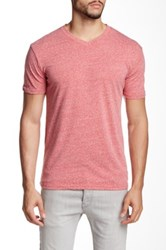 Mr. Swim Triblend V Neck Tee Red