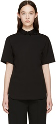 Neil Barrett Black Collared Shirt