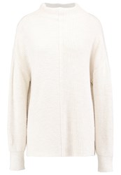 Topshop Tall Jumper Ivory Off White