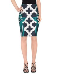 Cameo Skirts Knee Length Skirts Women Green