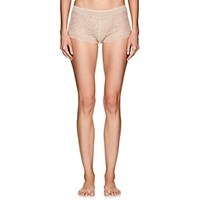 Zimmerli Poetic Botanicals Lace And Jersey Hipster Briefs Pink