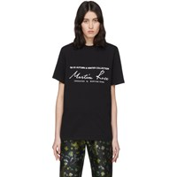 Martine Rose Black Classic T Shirt