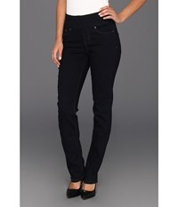 Jag Jeans Peri Pull On Straight In After Midnight After Midnight Women's Black