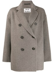 Acne Studios Short Double Breasted Coat 60